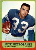 1963 Topps #27 Nick Pietrosante EX Excellent