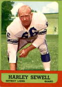 1963 Topps #29 Harley Sewell EX Excellent