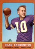 1963 Topps #98 Fran Tarkenton VG/EX Very Good/Excellent