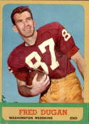 1963 Topps #161 Fred Dugan EX/NM SP