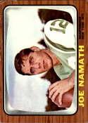 1966 Topps #96 Joe Namath VG/EX Very Good/Excellent