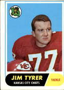 1968 Topps #15 Jim Tyrer VG Very Good