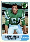 1968 Topps #38 Ralph Baker VG Very Good