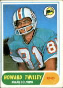 1968 Topps #39 Howard Twilley G Good RC Rookie