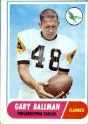 1968 Topps #58 Gary Ballman VG Very Good