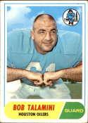 1968 Topps #68 Bob Talamini VG Very Good