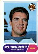 1968 Topps #70 Dick Van Raaphorst UER VG Very Good