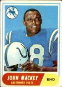 1968 Topps #74 John Mackey G Good