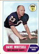 1968 Topps #82 Dave Whitsell VG Very Good
