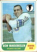 1968 Topps #125 Ron Vanderkelen VG Very Good RC Rookie