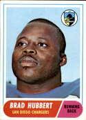 1968 Topps #141 Brad Hubbert EX/NM