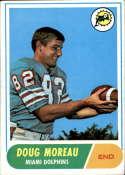 1968 Topps #144 Doug Moreau EX Excellent