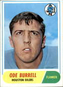 1968 Topps #146 Ode Burrell EX Excellent