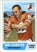 1968 Topps #147 Bob Scarpitto EX Excellent