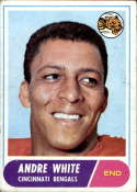 1968 Topps #148 Andre White VG/EX Very Good/Excellent