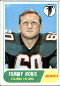 1968 Topps #151 Tommy Nobis EX Excellent