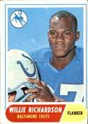 1968 Topps #152 Willie Richardson EX Excellent RC Rookie