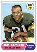 1968 Topps #160 Jim Taylor NM+