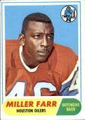 1968 Topps #172 Miller Farr EX Excellent
