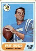 1968 Topps #185 Gary Cuozzo VG Very Good RC Rookie