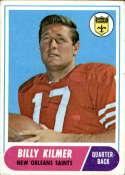 1968 Topps #186 Billy Kilmer VG/EX Very Good/Excellent