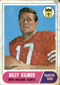1968 Topps #186 Billy Kilmer G Good
