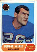 1968 Topps #201 George Saimes VG/EX Very Good/Excellent