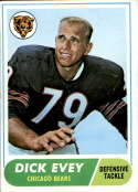 1968 Topps #205 Dick Evey VG/EX Very Good/Excellent