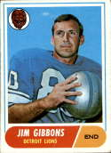 1968 Topps #208 Jim Gibbons VG/EX Very Good/Excellent
