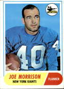 1968 Topps #211 Joe Morrison EX Excellent
