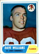 1968 Topps #218 Dave Williams VG Very Good