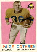 1959 Topps #28 Paige Cothren NM Near Mint