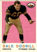 1959 Topps #34 Dale Dodrill VG/EX Very Good/Excellent