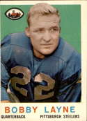 1959 Topps #40 Bobby Layne VG Very Good