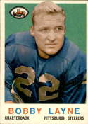 1959 Topps #40 Bobby Layne NM Near Mint