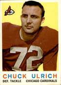1959 Topps #57 Chuck Ulrich EX/NM