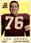 1959 Topps #60 Lou Groza EX Excellent