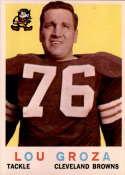 1959 Topps #60 Lou Groza EX/NM
