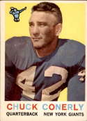 1959 Topps #65 Charley Conerly EX Excellent
