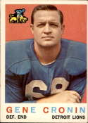 1959 Topps #66 Gene Cronin VG/EX Very Good/Excellent RC Rookie