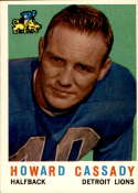 1959 Topps #85 Howard Cassady EX Excellent