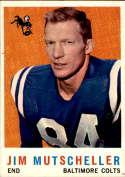 1959 Topps #89 Jim Mutscheller NM Near Mint