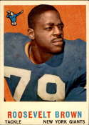 1959 Topps #114 Roosevelt Brown EX Excellent