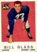 1959 Topps #122 Bill Glass EX/NM RC Rookie