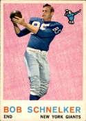 1959 Topps #128 Bob Schnelker EX Excellent