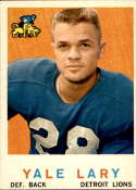 1959 Topps #131 Yale Lary EX Excellent