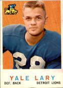 1959 Topps #131 Yale Lary VG/EX Very Good/Excellent