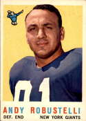 1959 Topps #147 Andy Robustelli EX/NM