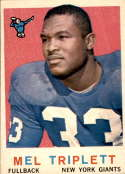 1959 Topps #160 Mel Triplett EX Excellent RC Rookie