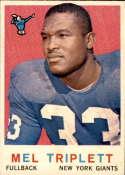 1959 Topps #160 Mel Triplett NM Near Mint RC Rookie